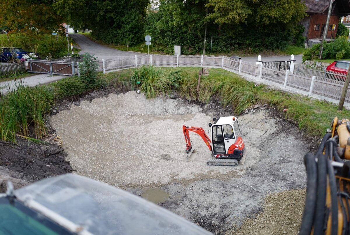 Teichbau – Teichanlagen in München & 5-Seen-Land